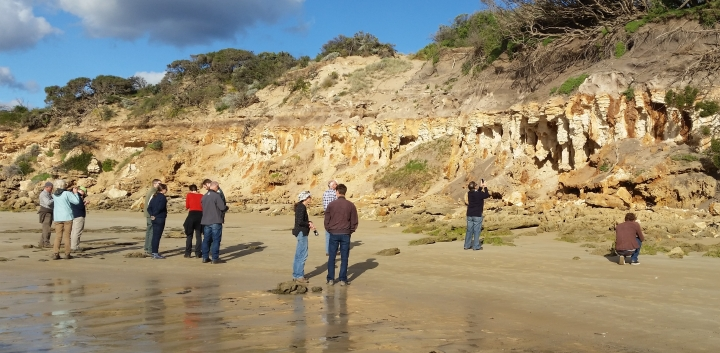 Photopoint monitoring training Point Roadknight Anglesea