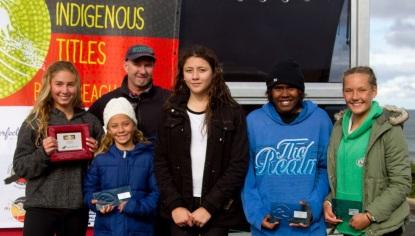 Australian Indigenous surf junr girsl winners
