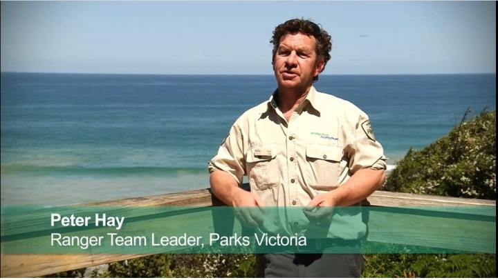 Peter Hay, Parks Victoria