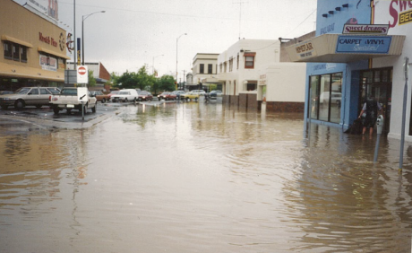 Ballarat 1991 flood photo