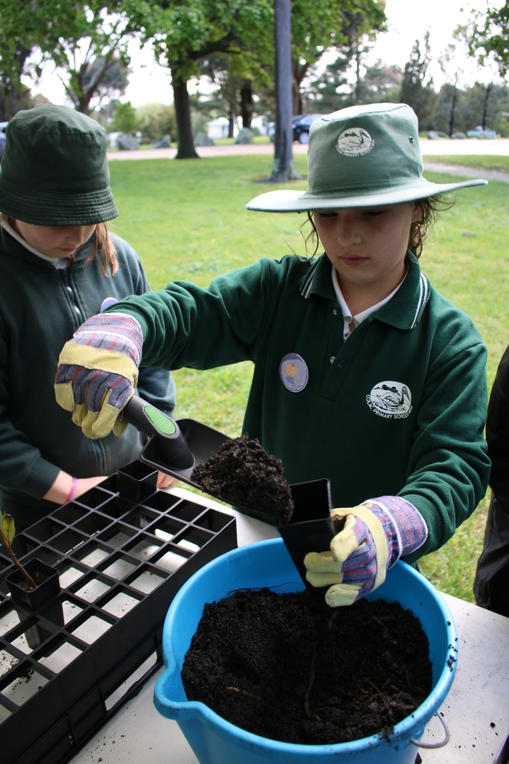 Barwon Water- seed planting 2- Colac PS