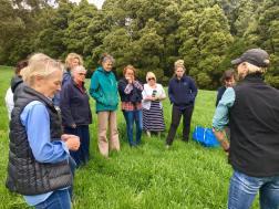 Talking soil health and regenerative farming