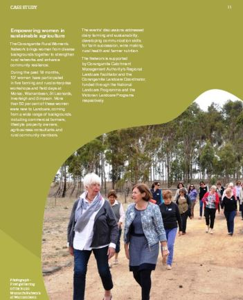 rural women case study our catchments our community